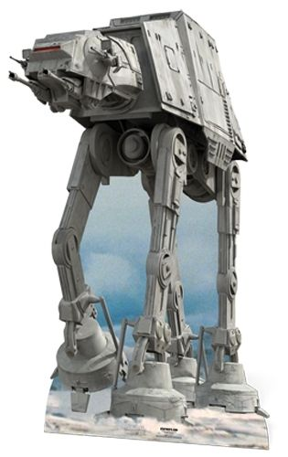 AT-AT Pappaufsteller