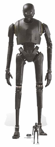 K-2SO (Rogue One) Security Droid Pappaufsteller