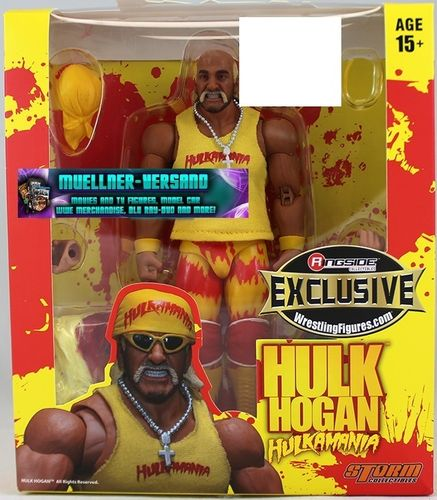 Yellow Hulkamania Hulk Hogan - Ringside Exclusive