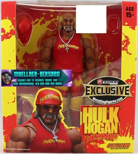 Red Hulkamania Hulk Hogan - Ringside Exclusive