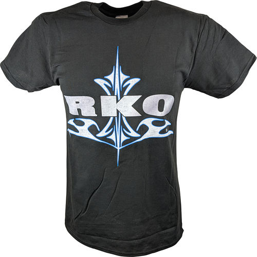 WWE RANDY ORTON RKO DESTINY  MENS BLACK T-SHIRT