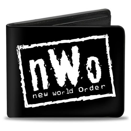 NWO-NEW WORLD ORDER Weiß GELDBEUTEL