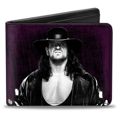 UNDERTAKER POSE PURPLE PURSE