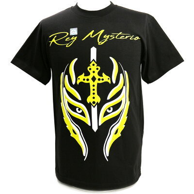 "Rey Mysterio ""Greatest Mask of All Time"" Kinder Authentic T-Shirt"