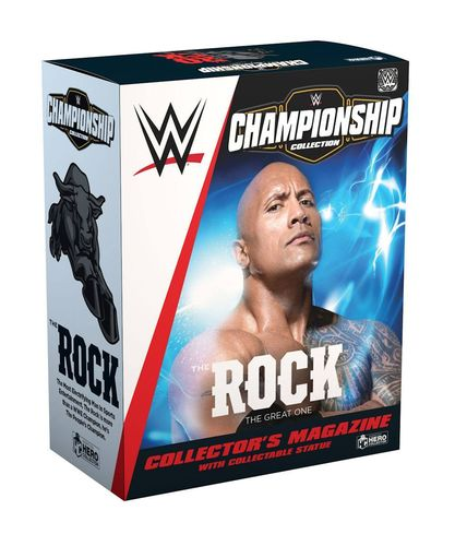WWE Championship Collection 1/16 The Rock