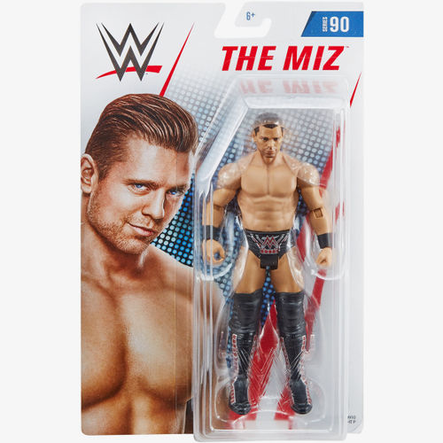 THE MIZ WWE Mattel BASIC SERIE 90