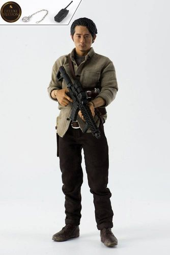 The Walking Dead Actionfigur 1/6 Glenn Rhee Deluxe Version