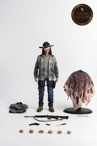 The Walking Dead Actionfigur 16 Carl Grimes Deluxe Version