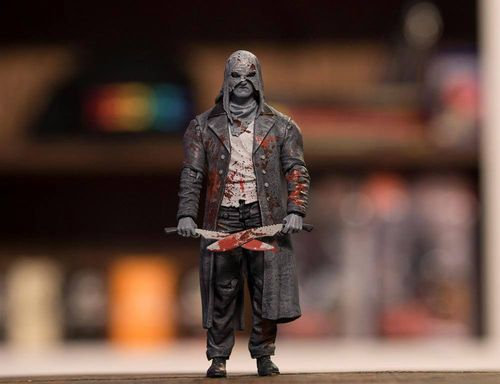The Walking Dead Actionfigur Beta (Bloody B&W)