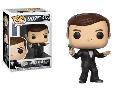 James Bond POP! Movies Vinyl Figur Roger Moore