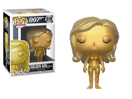 James Bond POP! Movies Vinyl Figur Golden Girl (Jill Masterson)..