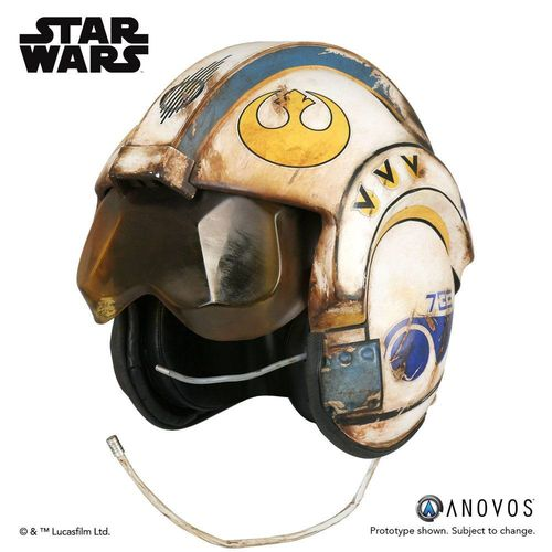 Star Wars Episode VII Replik 1/1 Rey Salvaged X-Wing Helm Accessory Ver.