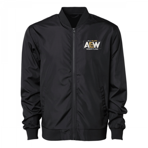 AEW Lightweight Windbreaker Bomber Jacket