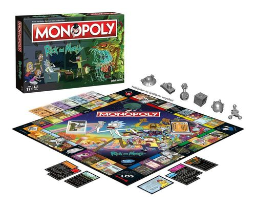 Rick and Morty Brettspiel Monopoly