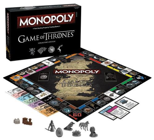 Game of Thrones Brettspiel Monopoly Collectors Edition