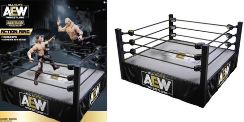 AEW : Action Ring Playset